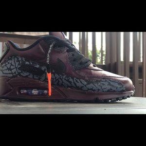 Custom designed Nike Air Max's! Size 6W